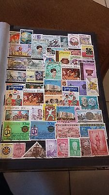 50 timbres Philippines (lot F)