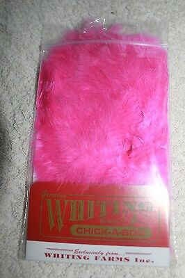 Whiting Pink Chickabou Fly Fishing Materials