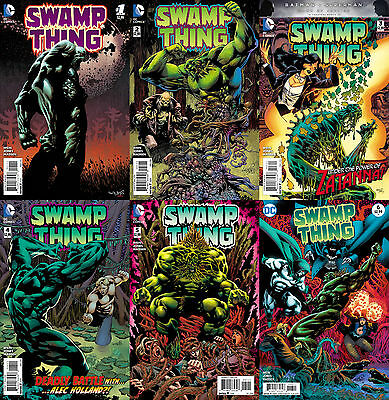 Swamp Thing (2016) 1-6 COMPLETE MINI-SERIES
