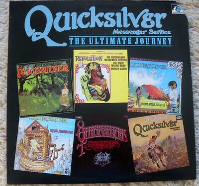 QUICKSILVER MESSENGER SERVICE COUNTRY ROCK OUTFIT. 33rpm  1986