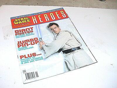 Star Wars Episode 1  Heroes  Poster Magazine