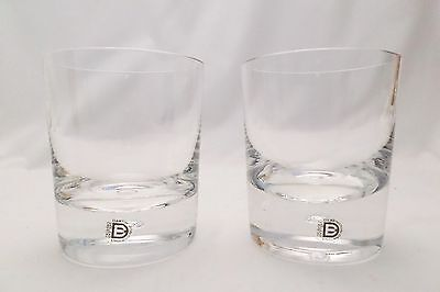 Dartington FT45 Vintage Exmoor Old Fashioned Glasses – A Pair