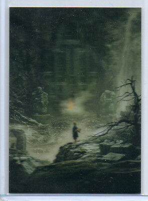 The Hobbit - Desolation Of Smaug - KA-06 Lenticular Chase Card NM Cryptozoic