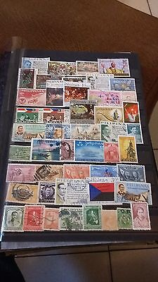 48 timbres Philippines (lot G)