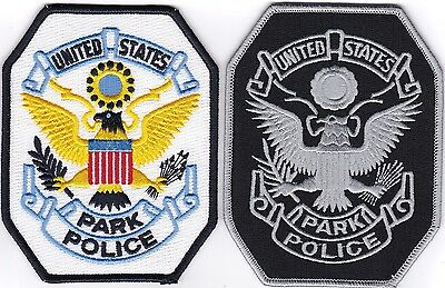 Set of Park Police patches NEW!