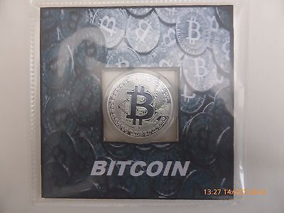 silver plated bitcoin