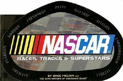 NASCAR Races, Tracks & Superstars--brand new book--168 pages color and BW photos