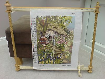 Pretty Tapestry Canvas on Rare Frame (no wool)
