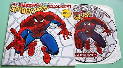 Spiderman - The Amazing Spider-Man - 1988 UK Rockomic Picture Disc