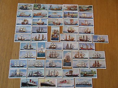 Churchman Cigarette Cards, The Story Of Navigation, 49/50