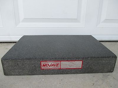 "Mojave Granite Surface Plate 18"" X 15"" X 3"" Thick"