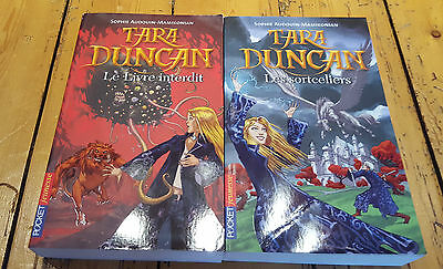 *** Lot 2 livres pocket Jeunesse TARA DUNCAN***