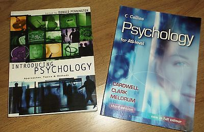 2 x Psychology books ~ AS level ~VGC