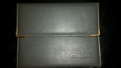 Mazda Mx-3 Handbook Owners Manual Wallet 1991-1998 Pack 12290