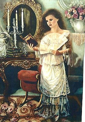 The Sonnet by Corinne Layton 24x36 Artist Proof,signed and Numbered Canvas Print