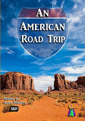 US American Travel video - An American Road Trip dvd by Scott Barrett