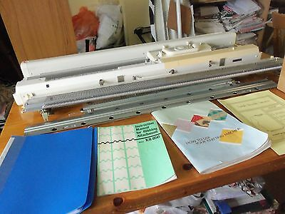 Brother Electronic Knitting Machine and Ribber