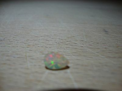 0.48ct Welo Opal, pear shaped, from Ethiopia
