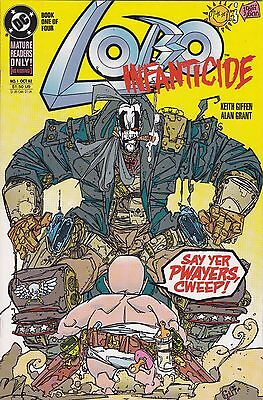 Lobo Infaticide #1 of 4 NM DC high grade Giffen Grant