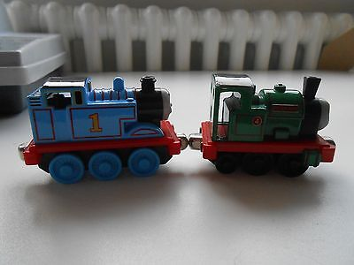 Thomas the tank engine and Peter Sam. Take and play