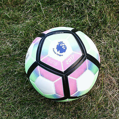 2016-17 Premier League Anti-Slip Football Match Soccer Ball Gift SIZE 5