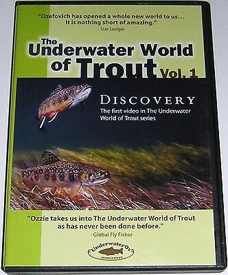 DVD The Underwater World of Trout - Vol. 1