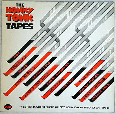"THE HONKY TONK TAPES -Dire Stairs; Night Shift; Chas+Daye 1979 -12' VINYL  ""VG+"""