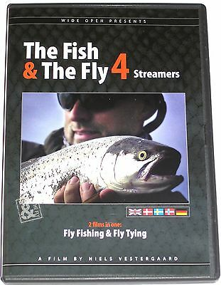 DVD The Fish & The Fly - Streamers - Part 4 - NEU