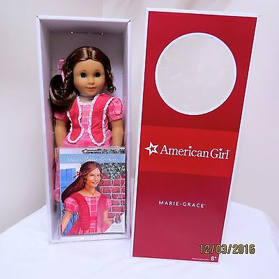 New in Box American Girl Retired Marie-Grace Stunning Doll BFF Cecile Sweet Face