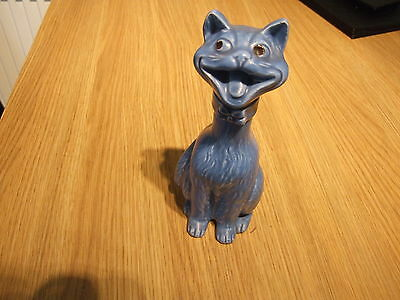 Stunning 100% Genuine Original Mega Rare Matt Blue Laughing Cat No843