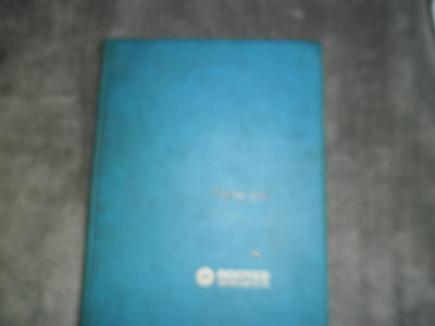Rootes Parts List Book B & Bf 15/30 Cwt Mk4