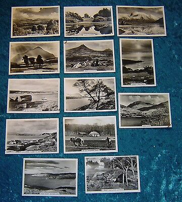 Senior Service  13 of 48 cigarette cards Beautiful Scotland 1939 pre WWII