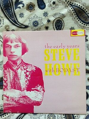 LP STEVE HOWE WITH BODAST - THE EARLY YEARS. Pre Tomorrow, pop psych, Sixties...