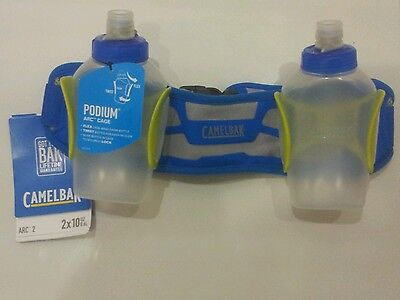 NEW Camelbak Arc 2 Hydration System Running Waist Belt with 2 Bottles