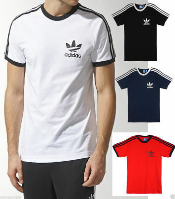 Adidas New Men's Originals Sport Essentials California Tee Shirts