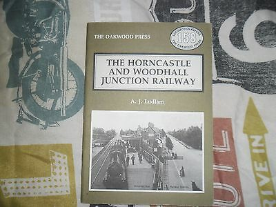 THE HORNCASTLE AND WOODHALL JUNCTION RAILWAY book locomotives