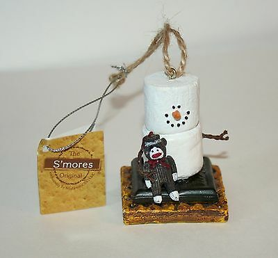 The Original Smores Sock Monkey Christmas Ornament Collector New Tags