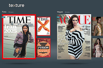 3 Months of Free Texture - Online Magazine Subscription ($44.97 Value)