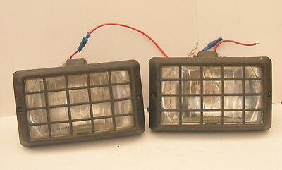 # Pair of Halogen Fog/Spot Lights with STONEGUARDS ##