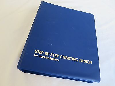 Knitting Book Step by Step Charting Design for Machine Knitters Sandra Williams