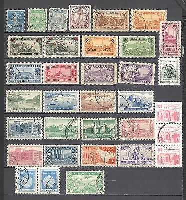 Syria classic lot collection
