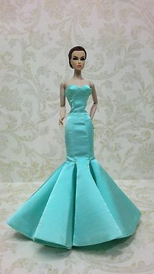 Gown outfit  for Fashion royalty , silkstone 12''   doll