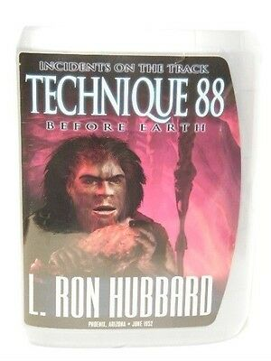Technic 88 - Before Earth  L. Ron Hubbard  New $225 Lecture Set