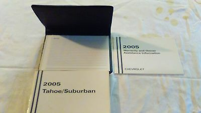2005 chevy suburban tahoe owners manual