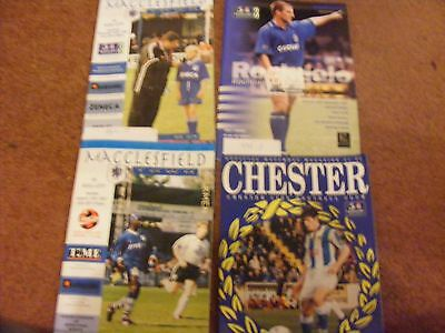1996/7 Chester v Hull City