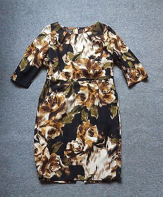 Beautiful Hobbs Wool Winter Dress, size 14, excellent used condition