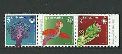SAN MARINO 2016 International Day of Poetry MNH(s)