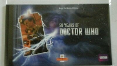 2013 50 Years Of Doctor Who Royal Mail Book of Stamps PSB Prestige