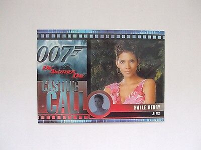 JAMES BOND die another day casting call chase card c2