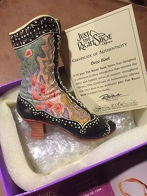 """Just The Right Shoe Collection By Raine """"deco Boot"""""""